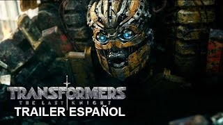 Transformers 5 El Último Caballero - Trailer Español Latino 2017 The Last Knight