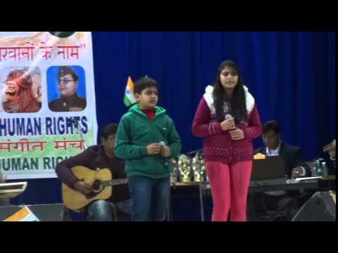 """Sandese Aate Hain"" sentimental song sung by Aamrapali and Deepanshu."