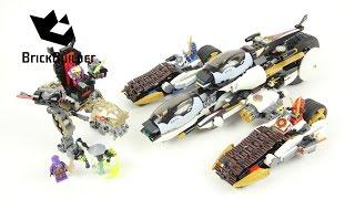 Lego Ninjago 70595 Ultra Stealth Raider - Lego Speed build