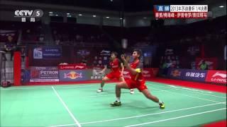 2013 Sudirman Cup MD-Level 1-Quarter Finals-Cai Yun_Fu Haifeng vs.Saputro Rian Agung_Pratama Angga