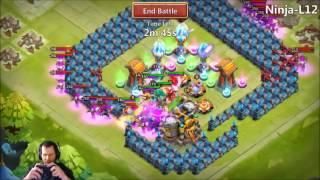 JT's Free 2 Play Unlocking Axe Of Strife Artifact Hero Trials Castle Clash