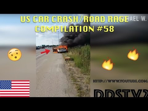 watch 🇺🇸 [US ONLY] US CAR CRASH/ROAD RAGE COMPILATION #58