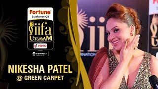 Nikesha Patel   IIFA Utsavam 2017   Talk With The Stars   Green Carpet