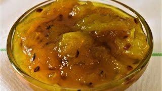 Kachhe Aam ki Chutney-Chatpata Mango Chutney-Raw mango Sweet and Spicy Chutney-Sweet Mango Pickle