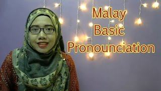 [LEARN MALAY] 02-Basic Pronunciation