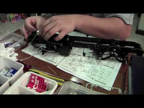 Building Tamiya Scania R620 in 4 Minutes