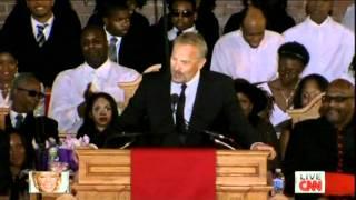 Kevin Costner´s speech in full  at Whitney Houston´s funeral