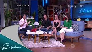 Pengalaman Seru Boy William, Shandy Aulia, Sara Wijayanto Syuting Film Tarot