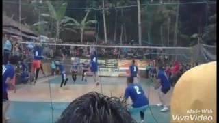 Spike volleyball terbaik Ramli gebot raja tarkam dari jawa barat  ( part 1 )