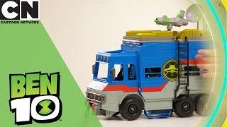 Ben 10   Alien Playset Toy Unboxing   Cartoon Network   Ad Feature