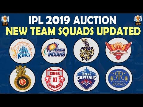 Xxx Mp4 IPL 2019 New Team Squads Updated All Teams Players Full List CSK MI RCB KKR DC SRH KXIP RR 3gp Sex