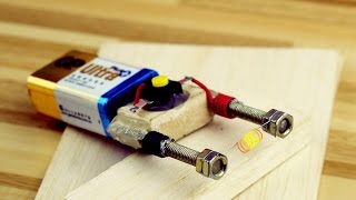 How to Make an Electric Hot Wire Lighter自制电子打火机点火器