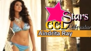 Aindrita Ray Photoshoot For CCL Calendar | Karnataka Bulldozers -  Brand Ambassador