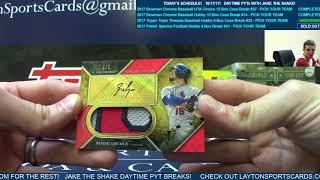2017 Topps Triple Threads Baseball Hobby 9 Box Case Break #33   PYT