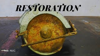 CIRCULAR SAW Restoration (Very Old) - Rusty and Restore It