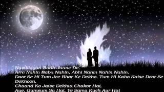 Chand Chupa (Hum Dil De Chuke Sanam) Full Song With Lyrics HQ.flv