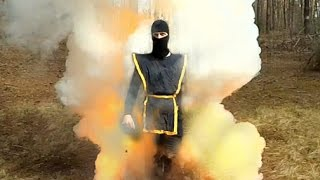 Super powerful homemade smoke bomb for airsoft. How to make.