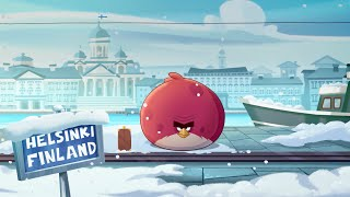 Angry Birds Seasons: On Finn Ice – Terence flies north for the holidays!