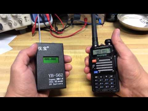 CTCSS DCS Tone Decoder And Frequency Counter