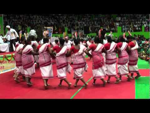Wishv Adiwasi Diwas 9 Augst 2011 Raipur Chhattisgarh India C.G.Uranw Adiwasi Karma Dance