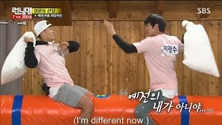 Running Man Ep.301 - Lee Kwang Soo Feels Stunned And Horrified With Kim Jong Kook And His Pillow