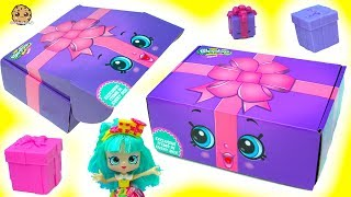 Life Size Shopkins Present? Shopkins Direct Box with Surprise Exclusive Items Inside