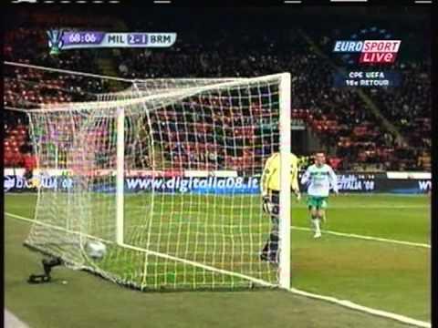 2009 (February 26) AC Milan (Italy) 2-Werder Bremen (Germany) 2 (Europa League)