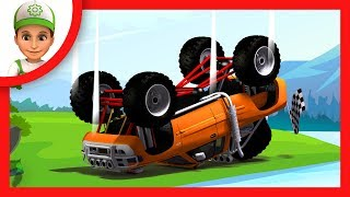 Blaze and the Monster Machines helped Handy Andy. Blaze cartoon for children - Kids story