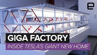 Inside the Gigafactory: Tesla