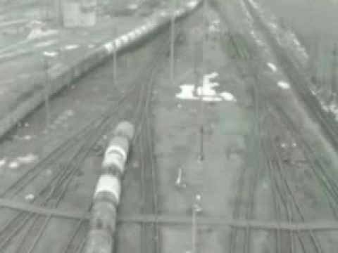 tren kazası karambol feci kaza. the train accident