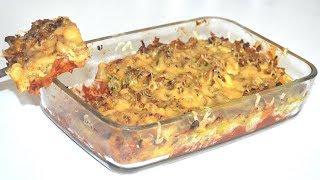 وجبة عشاء او غداء سريعة التحضير رااااائعة المذاق خفيفة بمكونات موجودة فكل مطبخ 😍