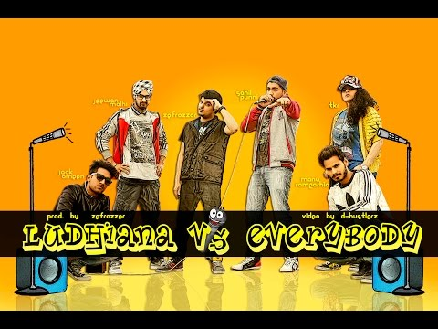 Ludhiana V.S Everybody | Rap Cypher (prod. by Zefrozzer) | D-Hustlerz | New Indian rap song 2015
