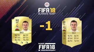 Comparazione Ratings Top 100 Fifa 18 vs Fifa 17 (20-11)