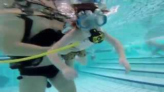 Bajka roni s KPA Drava - podvodni video snimak
