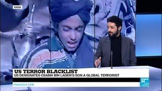 Middle-East: Osama Binladen's son on US terror list, Al-Qaeda leader Zawahiri releases a new audio