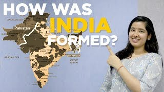 How was India Formed   Princely States and Jammu and Kashmir