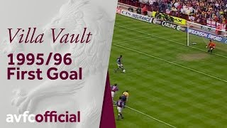Villa Vault: First goal of 1995-96 season