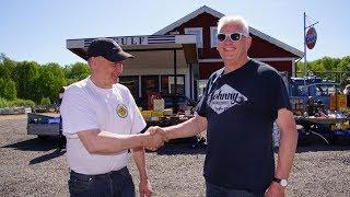 Torpa Veteranmarknad 27 maj 2017 musik Goldmar Persson
