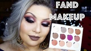 TUTORIAL E RESENHA: PALETA *Fand Makeup*