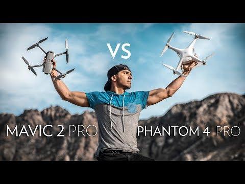 Mavic 2 Pro vs. Phantom 4 Pro In Depth Comparison