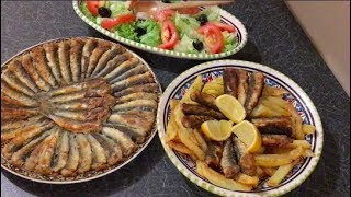 طريقة مدهشة  لقلي السردين على طريقة المطاعم التركية