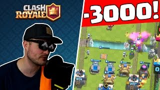 -3000 POKALE! || CLASH ROYALE || Let's Play Clash Royale || CR [Deutsch German]