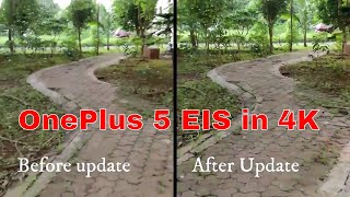 OnePlus 5 EIS in 4K recording mode with sample (in Hindi)