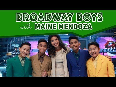 Xxx Mp4 Broadway Boys With Dabarkads Maine Mendoza June 16 2018 3gp Sex
