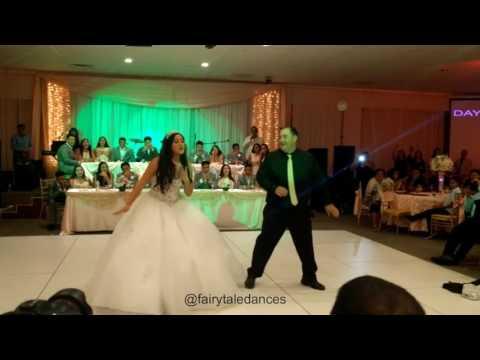 Juju On Dat Beat Quinceanera Father Daughter Dance | Fairytale Dances