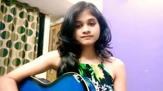 Gazab ka hai din guitar cover | Parbani Sinha