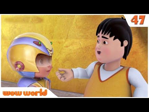 Gintu Meets Chintu   Vir The Robot Boy in English   Action Cartoon for Kids   Wow World