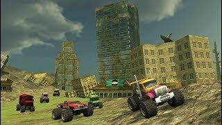 Monster Bus Destruction Grand Finale / 4x4 Truck Stunt Games /