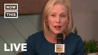 Living Room Town Hall LIVE Q&A with Kirsten Gillibrand | NowThis
