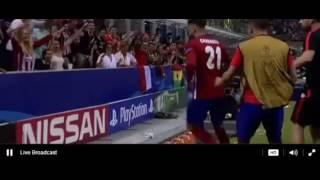 Yannick Carrasco Goal   Real Madrid vs Atletico Madrid 1 1 Champions League FINAL 2016 HD